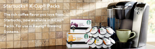 Starbucks B1G1 K-Cup Packs