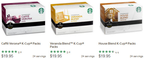 Starbucks K-Cup Packs (B1G1)