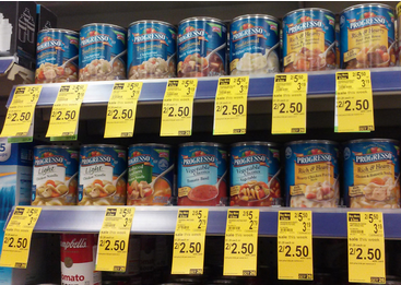 SAVE 50¢ when you buy TWO CANS any flavor Progresso® Soups