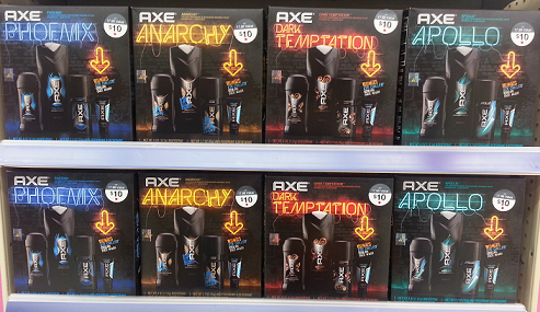 NEW High Value $3 Axe Gift Set Coupon!
