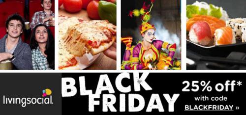 LivingSocial Black Friday Promo Code