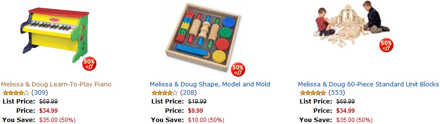 Amazon Melissa & Doug Toys