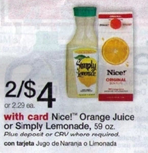 Nice! Orange Juice Sale (Wags 12-8)