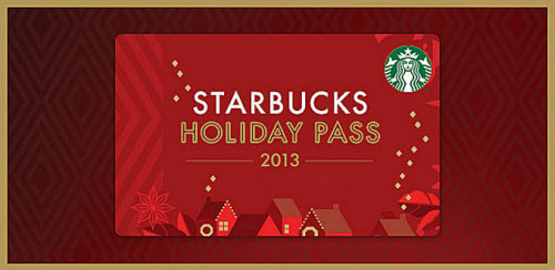 Zulily Starbucks Holiday Pass 2013