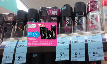 Axe monthly sprays 6w
