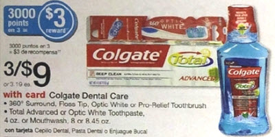 Colgate Optic White Toothpaste Sale (Wags 1-12)