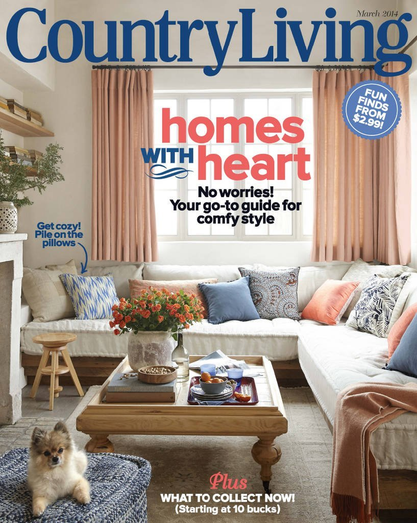 Country Living Magazine (Mar2014)