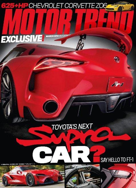 Motor Trend Magazine Only
