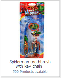 Toluna Spider Man Toothbrush