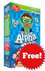 Free Alpha Bits!