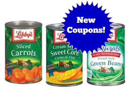 New Libby's Coupons!