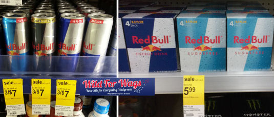 Free red bull at walgreens