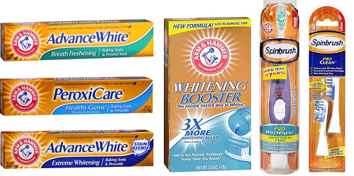 Arm & Hammer Whitening Booster and Spinbrush