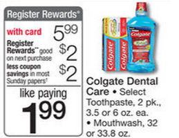 New Coupon for Colgate RR Next Week!