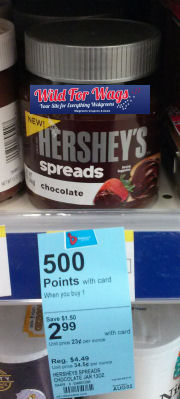 Hershey's Spreads Just $1.49!