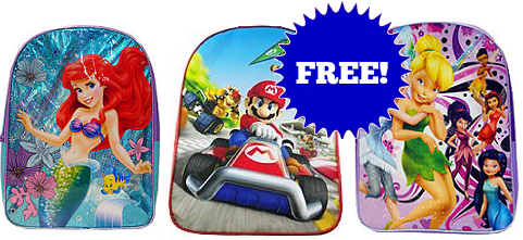 Kmart Free Backpack