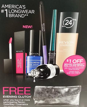 Revlon Free Evening Clutch at Walgreens