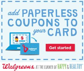 paperless coupons walgreens