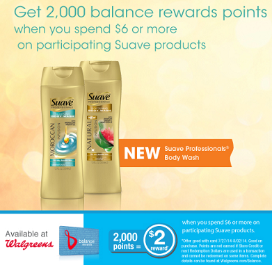 Suave Points Deal at Walgreens