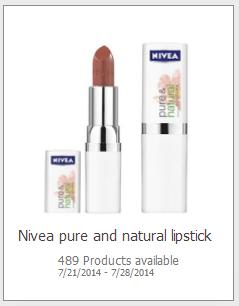 Free Nivea Lipstick
