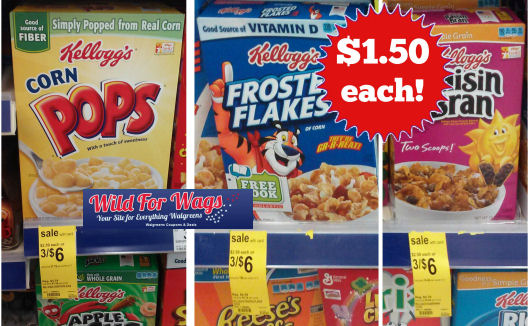New Coupon for $1.50 Kellogg's