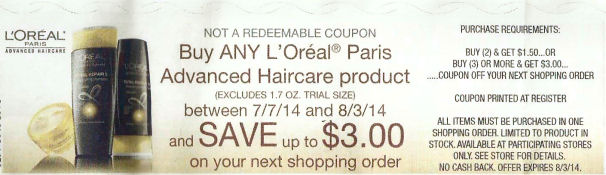 L'Oréal Advanced  Hair Care RR