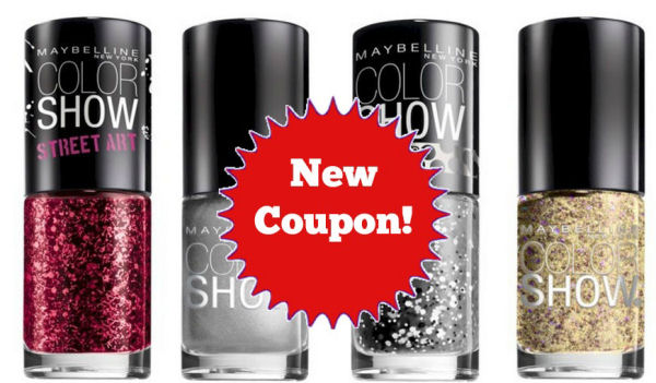 New Maybelline Nail Coupon for Points Deal Next Week!