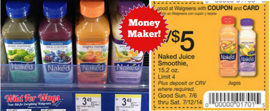 Naked coupons