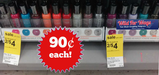 New Coupon for 90¢ Sally Hansen Nail Color!