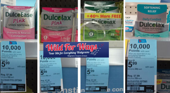 New Dulcolax B1G1 Coupons for Points Deal!