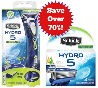 Save Over 70 Percent on Schick