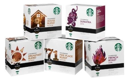 Starbucks K-cups coupons