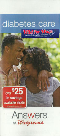 Answers at Walgreens: Diabetes Care Booklet!