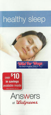 Answers at Walgreens: Healthy Sleep Booklet!