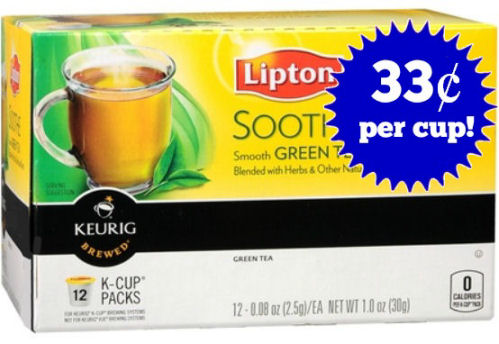 New Lipton K-Cup Coupon!