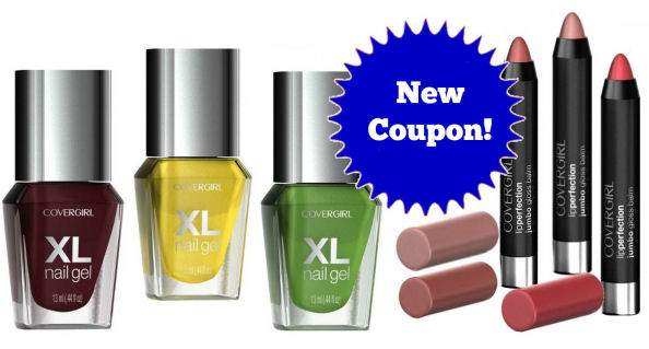New CoverGirl Coupon!