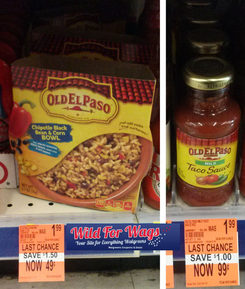Old El Paso Clearance