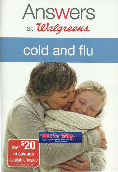 Answers At Walgreens: Cold & Flu Booklet thru 10/1/15!