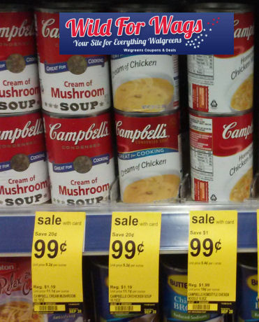 Campbell's Condensed Soups Just 86¢ Each!