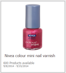 Free Nivea Nail Polish