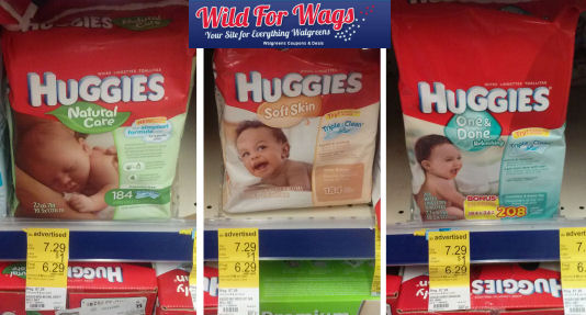 Surprise Register Reward for Huggies Wipes!