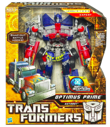 Transformers toy coupons