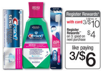 Crest Sesni Coupons