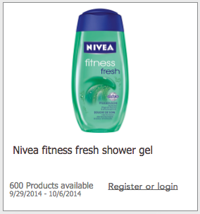Toluna Nivea Shower Gel