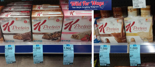 Grab Special K Protein Bars for 58¢ Each or Shakes for 88¢ Each!