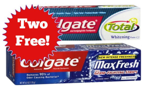 Free Colgate Next Week!