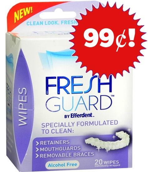 FreshGuard Wipes Just 99¢ Thru 9/27!