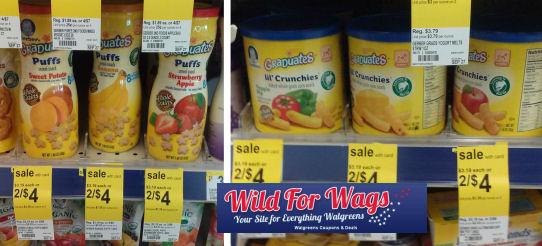 Gerber Baby Foods As Low As $1.17 Each!