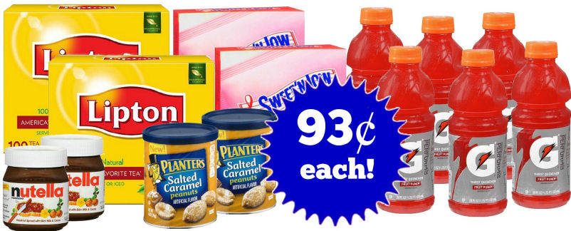Grocery Points Boost Scenario - As Low As 93¢ Per Item!