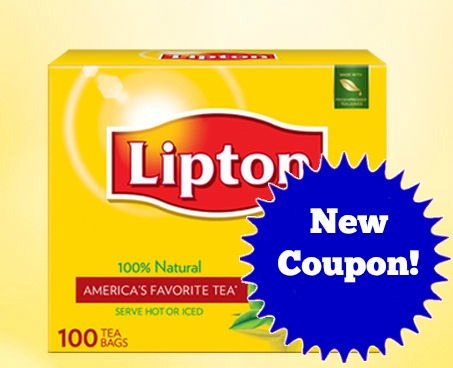 Lipton Black Tea Coupon!